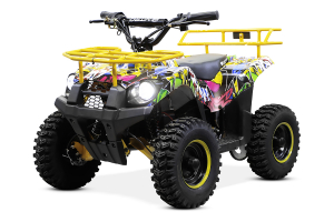 ATV electric NITRO ECO Torino Cross 800W 36V #Galben0