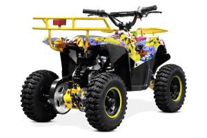 ATV electric NITRO ECO Torino Cross 800W 36V #Galben5