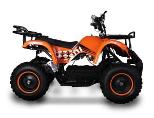 ATV electric pentru copii KXD Torino M5 800W 36V #Portocaliu1