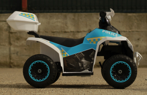Mini ATV electric Police Quad YSA021A STANDARD #Alb [4]