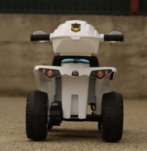 Mini ATV electric Police Quad YSA021A STANDARD #Alb [6]