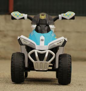 Mini ATV electric Police Quad YSA021A STANDARD #Alb1