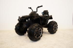 Mini ATV electric Quad Offroad cu Telecomanda STANDARD #Negru1
