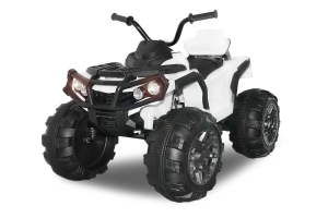 Mini ATV electric Quad Offroad cu Telecomanda STANDARD #Alb0