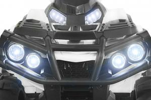 Mini ATV electric Quad Offroad cu Telecomanda STANDARD #Alb9