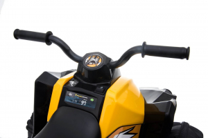 Mini ATV electric Tiger 30W STANDARD #Galben6