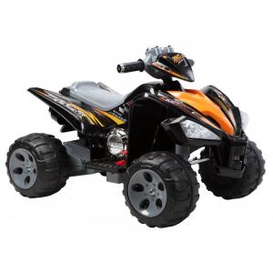 ATV electric pentru copii BJ007 90W 12V STANDARD #Negru0