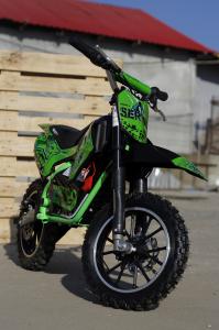 Mini motocicleta electrica NITRO Eco Serval 500W 10/10 #Verde6