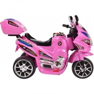 Mini Motocicleta electrica C051 35W cu 3 roti STANDARD #Roz3