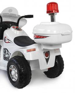 Mini Motocicleta electrica cu 3 roti LQ998 STANDARD #Alb2