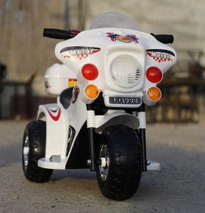 Mini Motocicleta electrica cu 3 roti LQ998 STANDARD #Alb1