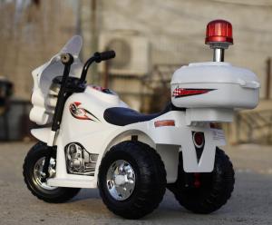 Mini Motocicleta electrica cu 3 roti LQ998 STANDARD #Alb3