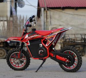 Mini Motocicleta electrica Eco Jackal 1000W 10 inch #Rosu7