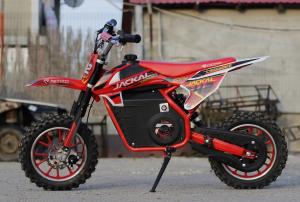 Mini Motocicleta electrica Eco Jackal 1000W 10 inch #Rosu6