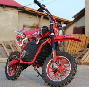 Mini Motocicleta electrica Eco Jackal 1000W 10 inch #Rosu9