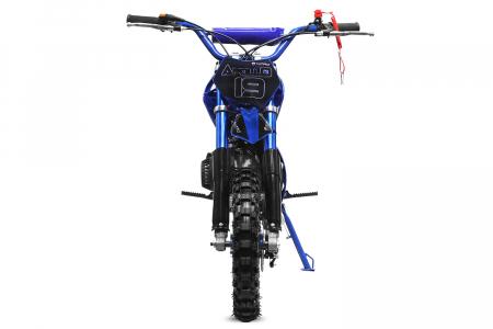 Motocicleta electrica Eco Apollo 1000W 36V 10 inch #Albastru [1]