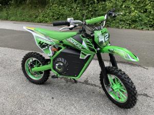 Mini Motocicleta electrica Eco Jackal 1000W 10 inch #Verde [4]