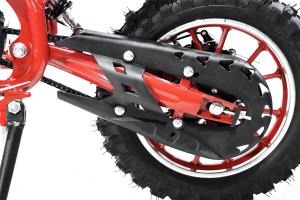 Mini Motocicleta electrica Eco Jackal 1000W 10 inch #Rosu1