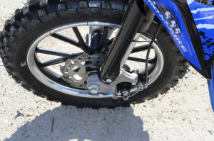 Mini motocicleta electrica NITRO Eco Serval 500W 10/10 #Albastru10