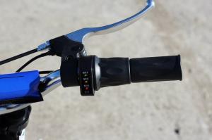 Mini motocicleta electrica NITRO Eco Serval 500W 10/10 #Albastru8