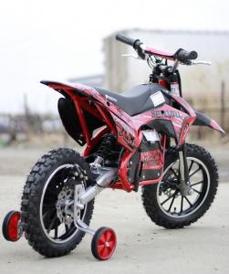 Mini motocicleta electrica NITRO Eco Serval 500W 10/10 #Rosu4
