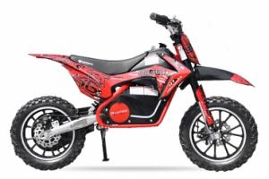 Mini motocicleta electrica NITRO Eco Serval 500W 10/10 #Rosu0