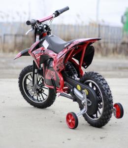 Mini motocicleta electrica NITRO Eco Serval 500W 10/10 #Rosu3