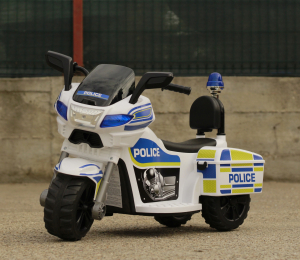 Mini Motocicleta electrica Police Motorbike TR1912 STANDARD #Alb3
