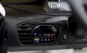 Masinuta electrica BMW X6M 2x35W 12V PREMIUM #Alb7