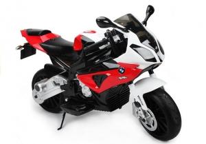 Motocicleta electrica cu roti ajutatoare BMW S1000RR PREMIUM #Rosu [4]
