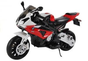 Motocicleta electrica cu roti ajutatoare BMW S1000RR PREMIUM #Rosu5