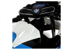 Motocicleta electrica cu roti ajutatoare BMW S1000RR PREMIUM #Albastru9