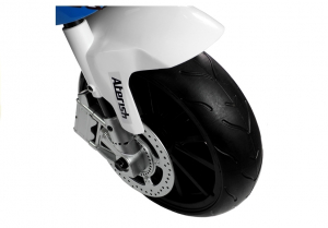 Motocicleta electrica cu roti ajutatoare BMW S1000RR PREMIUM #Albastru8