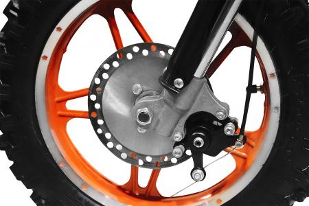 Motocicleta electrica pentru copii Apollo 1000W, portocaliu [13]