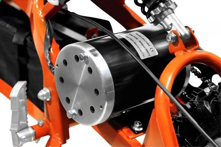Motocicleta electrica pentru copii Apollo 1000W, portocaliu [11]