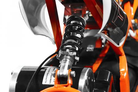 Motocicleta electrica pentru copii Apollo 1000W, portocaliu [7]