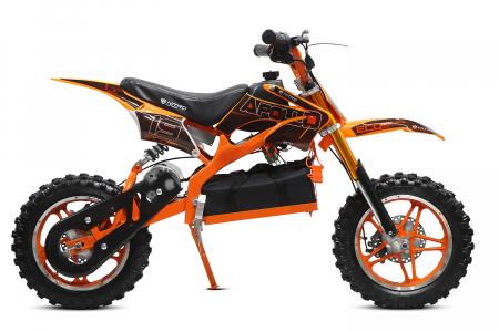Motocicleta electrica pentru copii Apollo 1000W, portocaliu [4]