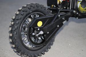 Motocicleta electrica Eco Tiger 1000W 36V 12/10 #Galben4