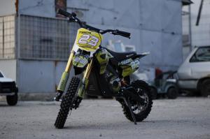 Motocicleta electrica Eco Tiger 1000W 36V 12/10 #Galben2