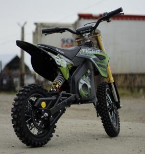 Motocicleta electrica Eco Tiger 1000W 36V 12/10 #Verde4