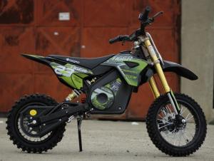 Motocicleta electrica Eco Tiger 1000W 36V 12/10 #Verde3