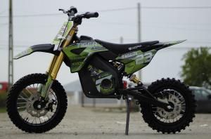 Motocicleta electrica Eco Tiger 1000W 36V 12/10 #Verde6