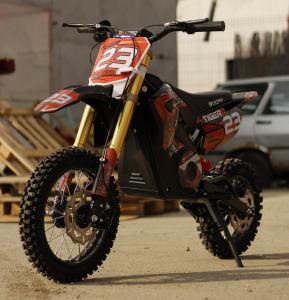 Motocicleta electrica Eco Tiger 1000W 36V 12/10 #Portocaliu2