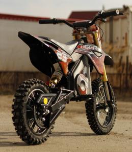 Motocicleta electrica Eco Tiger 1000W 36V 12/10 #Portocaliu3