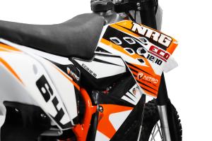 Motocicleta electrica Eco NRG 800W 48V 12/10 #Portocaliu9