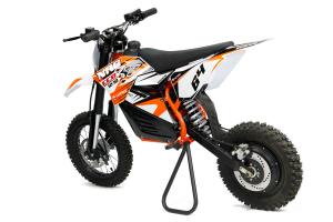 Motocicleta electrica Eco NRG 800W 48V 12/10 #Portocaliu1