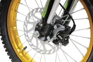 Motocicleta electrica Eco Tiger 1300W 14/12 48V 14Ah Lithiu ION #Verde9