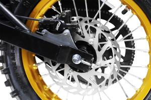 Motocicleta electrica Eco Tiger 1300W 14/12 48V 14Ah Lithiu ION #Verde8