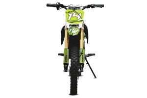 Motocicleta electrica Eco Tiger 1300W 14/12 48V 14Ah Lithiu ION #Verde2