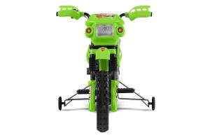 Motocicleta electrica pentru copii BJ014 45W 6V STANDARD #Verde [5]